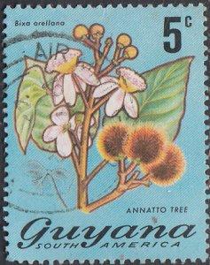Guyana #136   Used