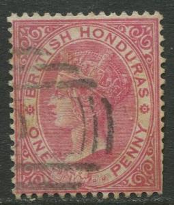 British Honduras.- Scott 14 - QV Definitive - 1882 - VFU - Single 1p Stamp