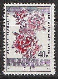 1960 Belgium - Sc 540 - MNH VF - 1 singles - Indian azalea