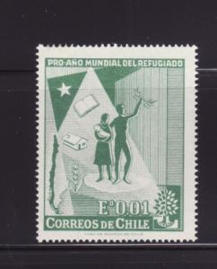 Chile 330 Set MH World Refugee Year (B)