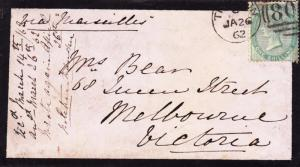 England to Australia, 1862, See Remark (11962)