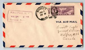 US 1931 FFC Bangor to Halifax - Z12910