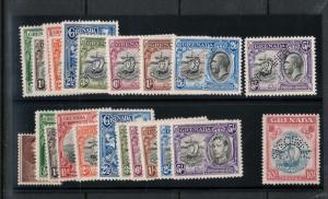 Grenada #114s - #123s #131s #142s Mint Specimen Perforated Stamp Set