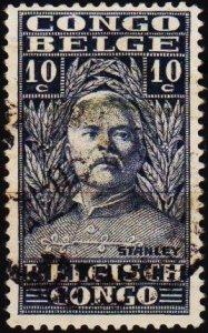 Belgium(Congo).1928 10c S.G.146 Fine Used