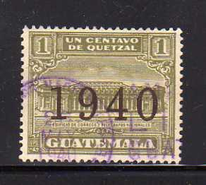 Guatemala RA14 U Post Office and Telegraph Building (A)