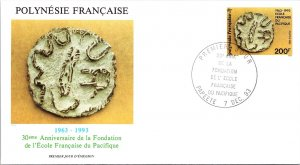 French Polynesia, Worldwide First Day Cover