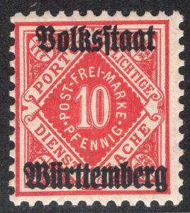 WURTTEMBERG SCOTT O47