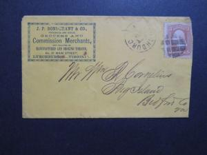 US 1889 Grocers Cacheted Commercial Cover  - Z8738