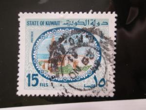Kuwait #855 used