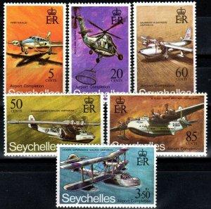 Seychelles #285-90 MNH CV $10.05 (X1220)