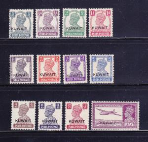 Kuwait 59-67, 69-71 MH King George VI