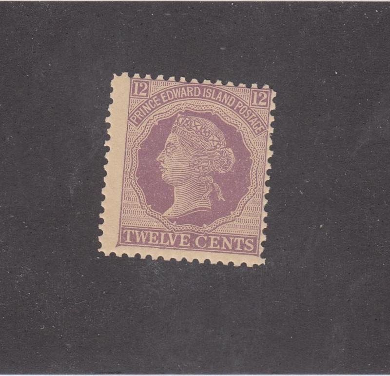PRINCE EDWARD ISLAND REF# KM41 # 16 MNH 12cts QUEEN VICTORIA VIOLET CAT VAL $18