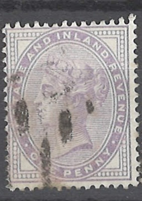 COLLECTION LOT OF # 1917 GREAT BRITAIN #88 1881 CV=$32.50 14 DOTS