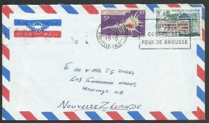 NEW CALEDONIA 1970 airmail cover Noumea to New Zealand.....................58669