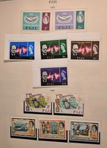 FIJI 1965 SETS AND SINGLES NO FAULTS EXTRA FINE! REMOVED OFF PAGE fi996
