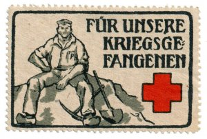 (I.B-CKK) Germany (Great War) Cinderella : POW Fund (Red Cross)