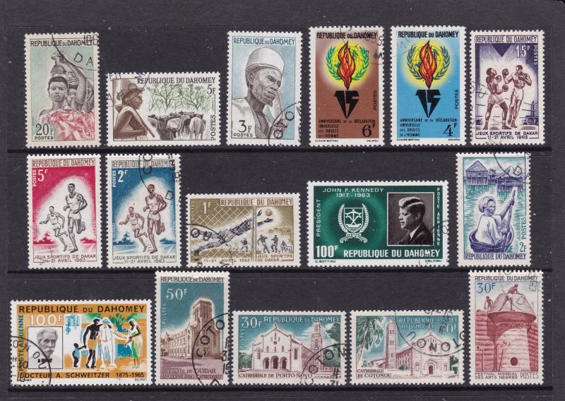 Dahomey collection mainly CTO