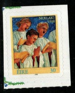 IRELAND SG1209 1998 CHRISTMAS SELF ADHESIVE MNH