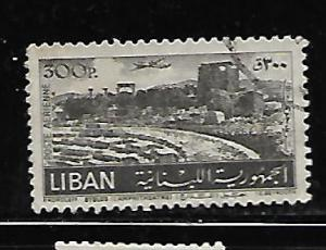 LEBANON C174 USED 1952 ISSUE