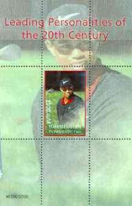 Turkmenistan 2000 Tiger Woods (Leading Personalities of t...