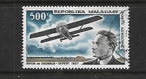 MALAGASY REPUBLIC, C84, MNH, AVIATION TYPE REGULAR ISSUE