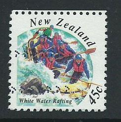 New Zealand SG 1778 VFU booklet pane top perfs
