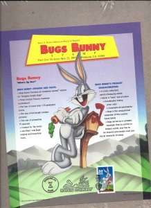 SP1237 Mint,OG,NH... 3137a Bugs Bunny First Day Issue... In Original Packaging