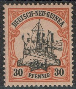 GRI NEW GUINEA 1914 YACHT 3D ON 30PF 5MM SPACING