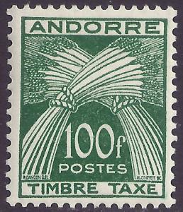 ANDORRA-FRENCH SCOTT J41