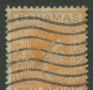 STAMP STATION PERTH Bahamas #109 KGVI Definitive Issue Used CV$0.55