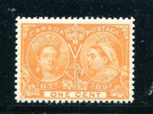 Canada #51 Mint  NH VF