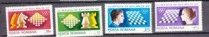 J27658 1980 romania set mh #2973-6 sports