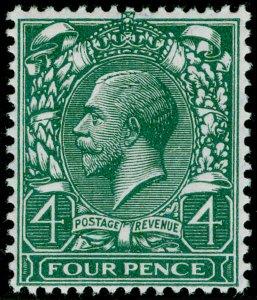 SG379 SPEC N23(1), 4d grey-green, NH MINT. Cat £25.
