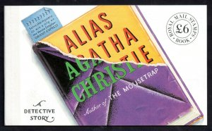 1991 Agatha Christie Prestige Booklet DX12 WS14105