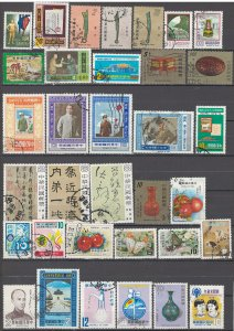 COLLECTION LOT OF # 1615 CHINA 34 STAMPS 1977+ CLEARANCE