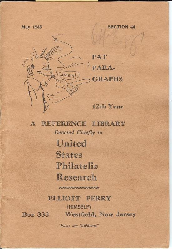 Pat Para-Graphs, 12th Year, A Reference Library Devoted C...