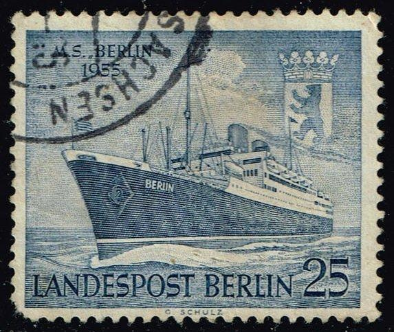 Germany #9N114 M.S. Berlin; Used (3.00)