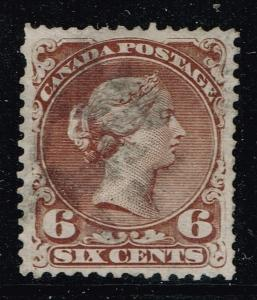 Canada SC# 27, Well Centered, Used, Pulled Perf.       Lot 06212015