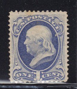 145 F-VF unused ( mint no gum ) with nice color cv $ 250 ! see pic !