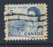 Canada SG 583p Used 2 phosphour bands
