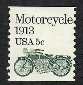 1899 Motorcycle F-VF MNH transportation coil single