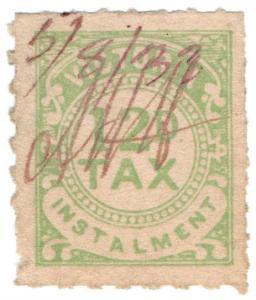 (I.B) Australia - Victoria Revenue : Tax Instalment 12d