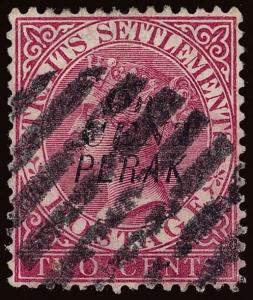 Malaya / Perak Scott 20a Gibbons 39 Used Stamp