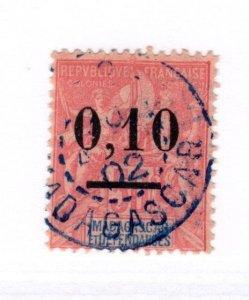 Madagascar #53 Used - Stamp CAT VALUE $9.50