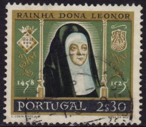 Portugal - 1958 - Scott #842 - used - Queen Leonor