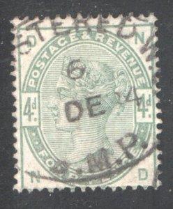 Great Britain Sc.103, Used, F/VF,  CV $210  ...  2480144