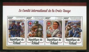 CHAD 2020 INTERNATIONAL RED CROSS SHEET MINT NH