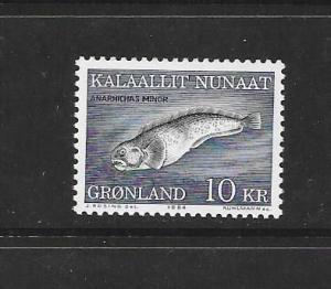 FISH - GREENLAND #137  MNH