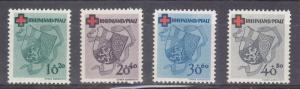 Germany (Rhine Palatinate) Scott #8NB1-8NB4 MNH
