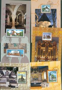 Sweden. Maximum Card 1997. Complete Set 6 Card. Swedish Churches